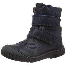 Bisgaard Tex Boot 61016216, Unisex-Kinder Schneestiefel, Blau (601 Blue) 28