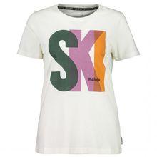 Maloja - Women's MadrisaM. - T-Shirt Gr L;M;S;XL;XS weiß/grau