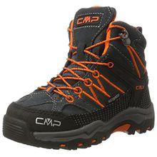 CMP Campagnolo Unisex-Kinder Rigel Mid WP Trekking-& Wanderstiefel, Schwarz (Asphalt), 30 EU
