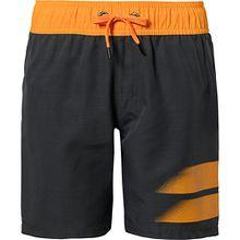 Badeshorts MIKE  grau/orange Jungen Kinder