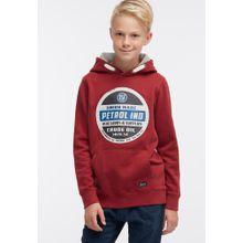 Petrol Industries Sweater mischfarben / rot