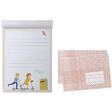 Briefpapier-Set Kinder mit Umschlägen