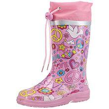Beck Peace, Mädchen Langschaft Gummistiefel, Pink (pink 06), 32 EU