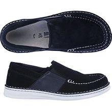 BIRKENSTOCK DUMA Schuhe Mokassins (42 EU, NAVY)