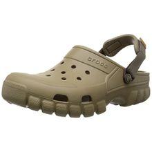 crocs Offroad Sport Clog, Unisex - Erwachsene Clogs, Braun (Khaki/Walnut), 36/37 EU