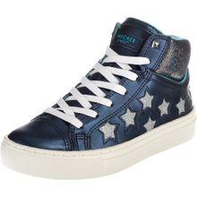 SKECHERS Sneakers blau / silber