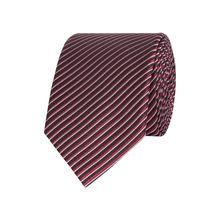 Krawatte aus reiner Seide - handgefertigt (6 cm)