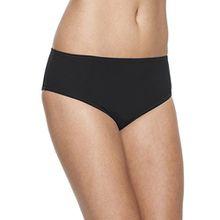 Rosa Faia Damen Slip Bikinihose L4 8709-0, Gr. 48, Schwarz (schwarz 001)
