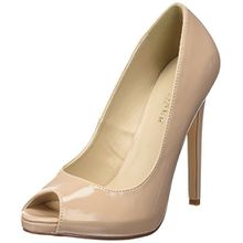 Pleaser SEXY-42, Damen Pumps, Beige (Cremefarben (Nude Pat)), 42 EU (9 Damen UK)