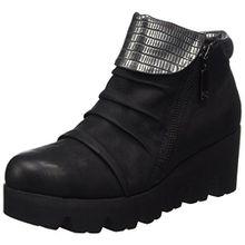GERRY WEBER Shoes Damen Lucie 01 Stiefel, Schwarz (Schwarz-Kombi (101)), 39 EU