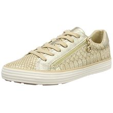 s.Oliver Damen 23615 Sneaker, Beige (Dune/Gold), 38 EU