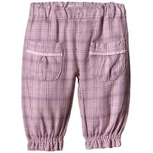 NAME IT Baby - Mädchen Hose Nitlilly Nb So Bag/r Twi Pant Wr 515, Gr. 68, Rosa (Pink Nectar)
