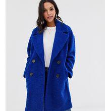 mByM - Zweireihiger Mantel - Blau
