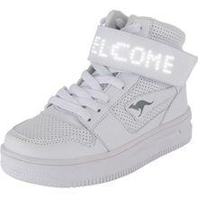 KangaROOS Kinder LED Sneakers High FUTURE-SPACE HI weiß
