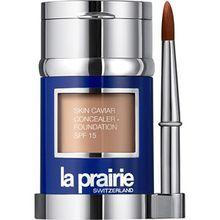 La Prairie Make-up Foundation Powder Skin Caviar Concealer Foundation Creme Peche 32 g