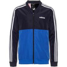 ADIDAS PERFORMANCE Trainingsjacke 'YB TS WOVEN' blau / dunkelblau / weiß