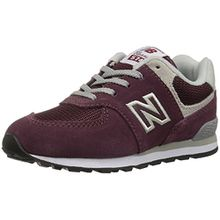 New Balance Pc574v1, Unisex-Kinder Sneaker, Rot (Burgundy), 32 EU (13 UK)