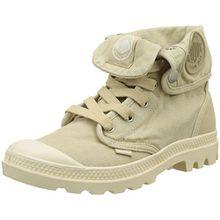 Palladium Damen Baggy Hohe Sneaker, Beige (Sahara/Écru F90), 40 EU