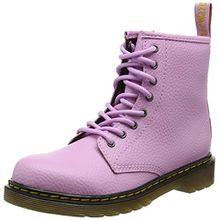 Dr. Martens Unisex-Kinder Delaney PBl Klassische Stiefel, Pink (Mallow Pink 690), 34 EU