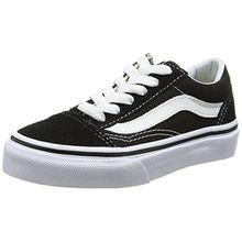 Vans Unisex-Kinder Old Skool Sneaker, Schwarz (Black/True White 6bt), 32 EU