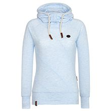 Naketano Female Hoody Mandy XI Cloudy Melange, L