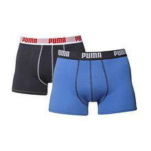 Puma 2 Pack Boxershorts Men SHORT BOXER Blue, Größe:M