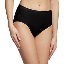 Calida Damen Slip Comfort, Einfarbig, Gr. 50 (Herstellergröße: L 48/50), Schwarz (schwarz 992)
