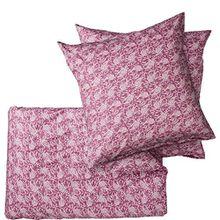 BUTLERS SWEET DREAMS PAISLEY Bettwäsche-Set 200x200cm - gekämmte Baumwolle - bedruckt - Paisley-Design - Knopfverschluss