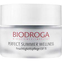 Biodroga Gesichtspflege Special Care Perfect Summer Wellness Feuchtigkeitspflege LSF15 50 ml