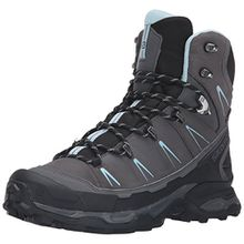 Salomon Damen X Ultra Trek GTX W Trekking-& Wanderstiefel, Grau (Dark Cloud/Black/Cristal 000), 40 2/3 EU