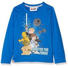 Lego Star Wars Jungen T-Shirt 163106, Bleu (Bleu), 10 Jahre (Hersteller Größe: 10 Jahre)