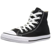 Converse Chuck Taylor All Star, Unisex-Kinder Hohe Sneakers, Schwarz (Black), 35 EU