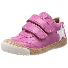Bisgaard Mädchen Klettschuhe Sneaker, Pink (Pink), 27 EU