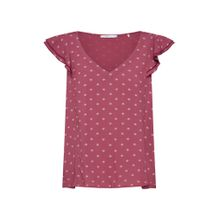 EDC BY ESPRIT Bluse pflaume