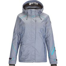 KILLTEC Skijacken Sarlia - Funktionsjacke mit abzippbarer Kapuze und Schneefang dunkelblau Damen