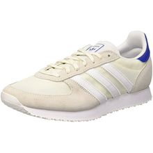 adidas Damen ZX Racer Sneakers, Weiß (Off White/FTWR White/Collegiate Royal), 38 2/3 EU