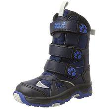 Jack Wolfskin Jungen Boys Snow Diver Texapore Trekking-& Wanderstiefel, Blau (Vibrant Blue 1615), 34 EU