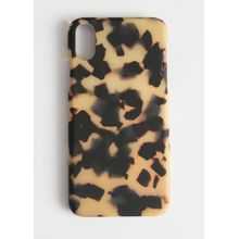 Tortoise iPhone Case - Beige