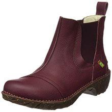 El Naturalista Damen N158 Soft Grain Yggdrasil Chelsea Boots, Rot (Rioja), 37 EU