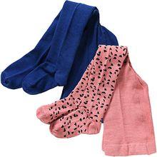 Baby Strickstrumpfhose Doppelpack  rosa Mädchen Kinder