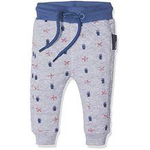 Noppies Baby-Jungen Hose B Pant Sweat Curved Gary, Grau (Light Grey Melange C245), 68