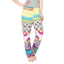 Desigual Damen Schlafanzughose 61NL0P0, Violett (Lila Flandes 3048), 38 (Herstellergröße: S/M)