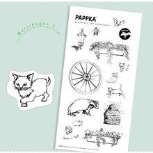 PAPPKA® bemalbare Sticker – Das klebende Mitbringsel