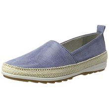 Jana Damen 24605 Slipper, Blau (Denim 802), 40 EU