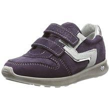 Ricosta Mädchen Tabea Sneaker, Blackberry, 00032 EU