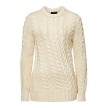 Theory Zopfstrick-Pullover mit Wolle