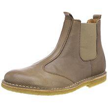 Bisgaard Unisex-Kinder Stiefelette Chelsea Boots, Braun (Taupe), 35 EU