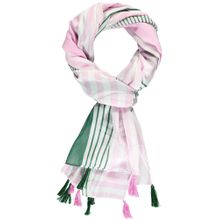 GERRY WEBER Schal smaragd / rosa / weiß
