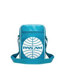 LOGOSHIRT Tasche 'Pan Am - Pan American World Airways' türkis / weiß