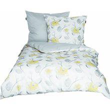 Schöner Wohnen Bettwäsche-Set, 100 Prozent CO, Gelb, 200 x 135 cm